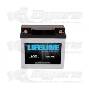LifeLine 12V RV Deep Cycle 33ah AGM Battery