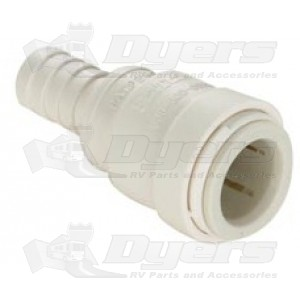 """SeaTech 1/2"""" CTS x 1/2"""" HB Hose Barb Fitting"""