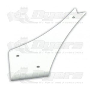 JR Products Curved Corner Slide-Out Extrusion Cover
