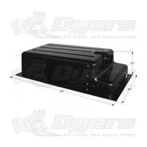 Icon ABS Recessed End Drain 31 Gallon RV Holding Tank