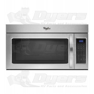 Whirlpool 1.7 cu.ft. Stainless Steel Microwave Hood Combination