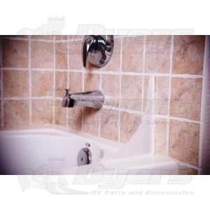 Camco Bath Tub Splash Guard Clear