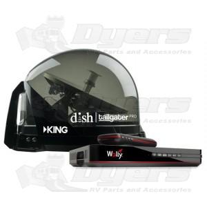 King Controls Dish Tailgater Satellite TV Antenna