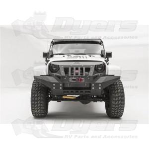 FabFours Jeep Bumper Grumper Fits 2007-2017 Jeep Wrangler