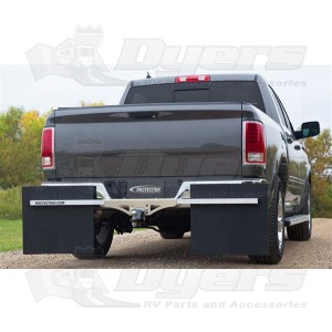 Roctection Hitch Mounted Mud Flaps