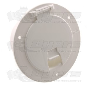 JR Deluxe Cable Hatch - Polar White 541-2-A