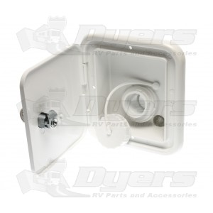 JR Polar White Locking Gravity Water Hatch