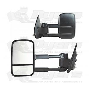 K-Source 14-15 Silverado/Sierra 1500 Black Extendable Towing Mirror