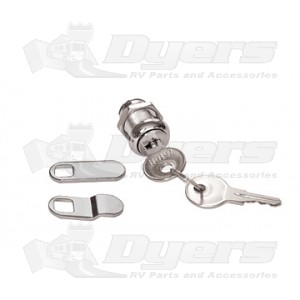 "RV Designer 7/8"" Keyed Econo Cam Lock"