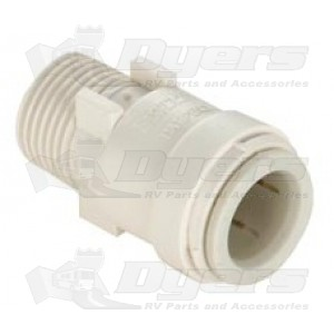 "SeaTech 3/8"" CTS x 1/2"" NPT Male Connector"