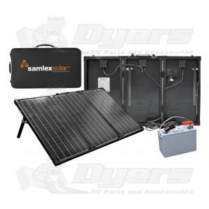 Samlex 135 Watt Portable Charging Kit