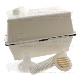 Mts Large Vented Polar White Battery Box Batteries Boxes