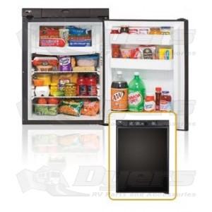 Norcold 2.7 Cu Ft. RH 3-Way Black Contemporary Refrigerator