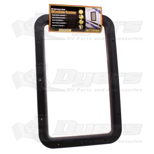 O.P. Black Interior Window Frame 77012