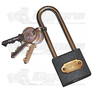BAL RV/Adik Tire Locking Chock Padlock