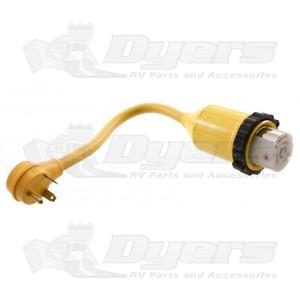 Park Power 50 Amp (F) to 30 Amp (M) RV Adapter - 1' 124ARV