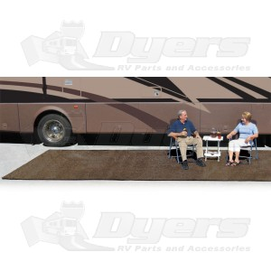 Prest O Fit Brown 8 X 20 Outdoor Patio Rug Patio Mats