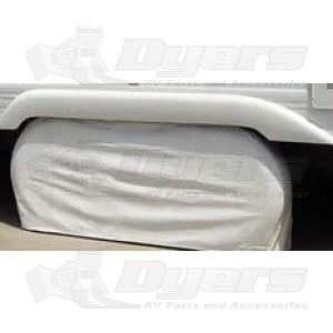 """ADCO Polar White 27""""-29"""" Double Axle Tyre Gard"""