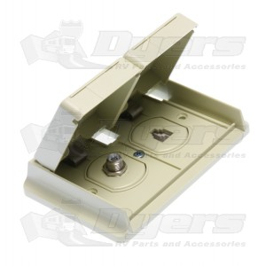 Prime products colonial white outdoor phone and tv outlet for Outlet colonial