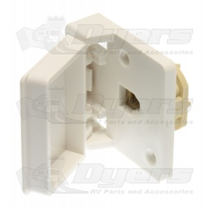 Prime Products White Single Outdoor Phone Receptacle