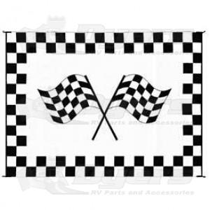 Patio Mats 9u0027 x 12u0027 Reversible Racing Mat - Patio Mats - Outdoor Living - RV Lifestyle  sc 1 st  Dyers RV & Patio Mats 9u0027 x 12u0027 Reversible Racing Mat - Patio Mats - Outdoor ...