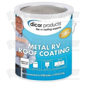 Dicor Elastomeric Metal Rv Roof Coating Roof Repair