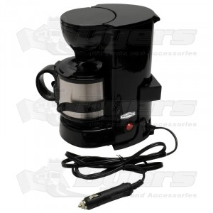 RoadPro® 12-Volt Coffee Maker with 16oz. Metal Carafe