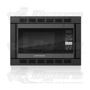 Contoure Black Counter Top Built In Convection Microwave