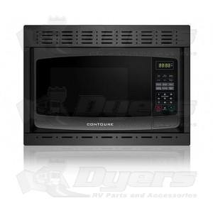 Contoure Black Built In Microwave