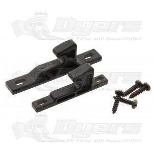 rv designer cabinet door/drawer push latch strike set - latches
