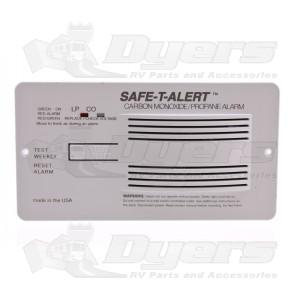 Safe-T-Alert White CO/LP Alarm with Shutoff Valve 70-742