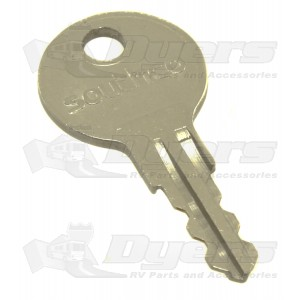 SouthCo Replacement Push Lock Key for Codes R001 to R010