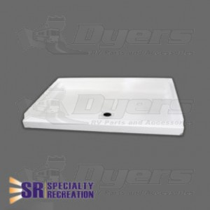 Specialty Recreation 24 Quot X 38 Quot White Front Center Drain