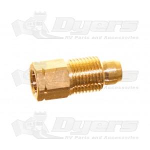 "Suburban  Water Heater 171463 1/4"" Loxit Manifold to Burner Nut"