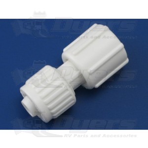 """Flair-It 1/2"""" Flare x 3/4"""" FPT Swivel Coupling"""