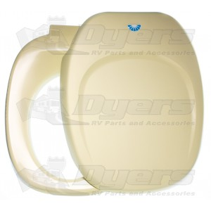 Thetford 36789 Aqua Magic Iv Hand Flush Ivory Seat And