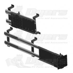 Mor ryde adjustable horizontal sliding mount receptacles - Vertical sliding tv mount ...