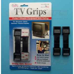 Thumb Lock Black TV Grips