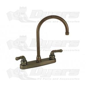 Empire Brass Company Oil Rubbed Bronze Teapot Handle Gooseneck Kitchen Faucet