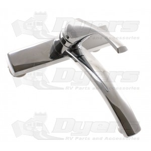Utopia Single Lever Chrome Kitchen Faucet