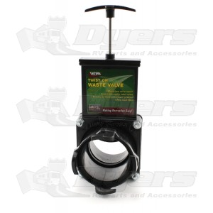 "Valterra 3"" Twist-on-Waste Valve T58"
