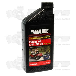 Yamaha 10w 30 Yamalube Engine Oil Generator Parts