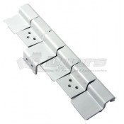 AP Products White 6 Leaf Door Hinge Assembly