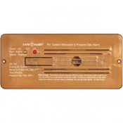 Safe-T-Alert Brown Flush Mount 35 Series CO/LP Gas Alarm