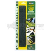 "INCOM Black 12"" Anti-Slip Safety Grit Strips"