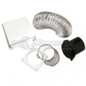Splendide Deluxe Paintable Dryer Vent Kit