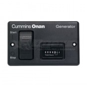 Cummins Power Generation Remote Control Panel-Switch with Hour Meter
