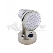 Diamond 36 Diode Satin Chrome LED Reading Lamp