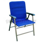 Prime Products California Blue Elite Folding Chair