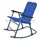 Prime Products Elite Folding Rocker California Blue